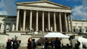 Beyond Words event in the UCL Front Quad. This event was part of Bloomsbury Festival 2016.
